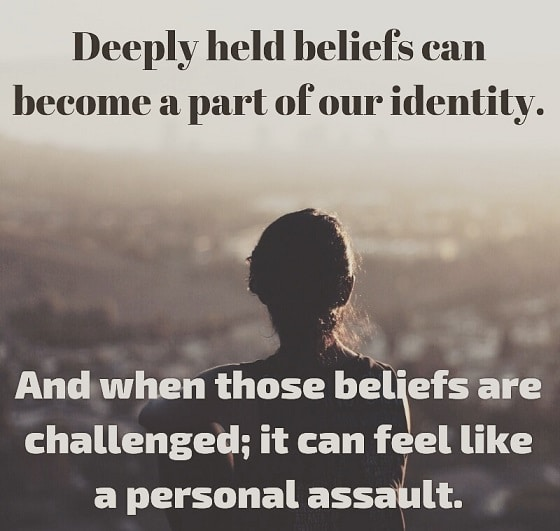 When Beliefs Influence Identity