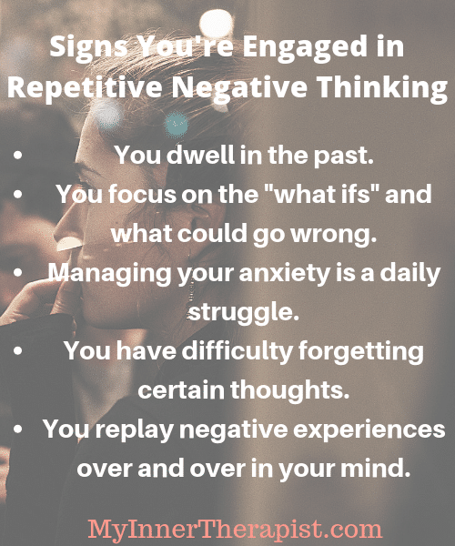 Repetitive Negative Thinking